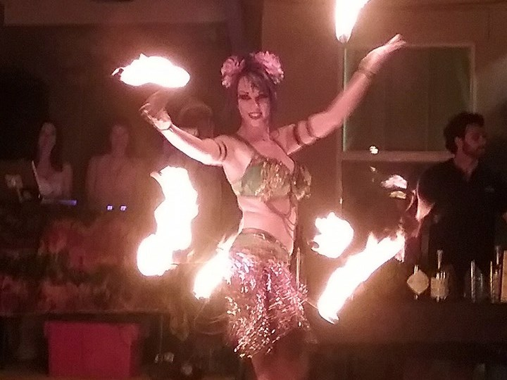 Adult fire performer opinion you