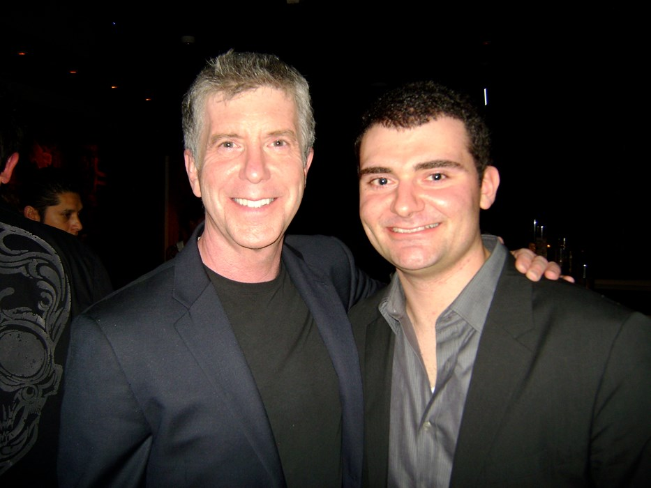 With TV Host Tom Bergeron