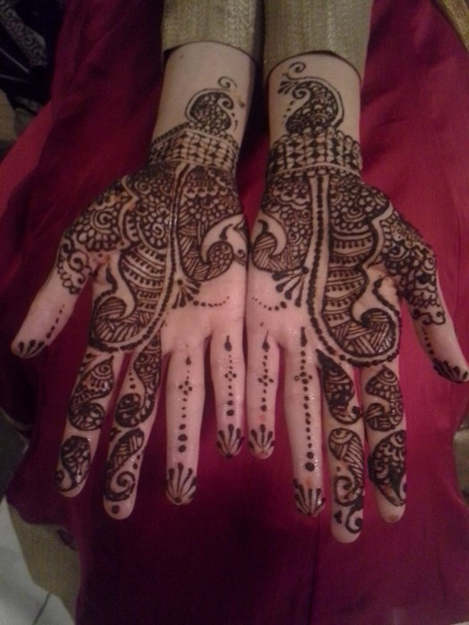 Bridal henna in Kingston RI Jumana