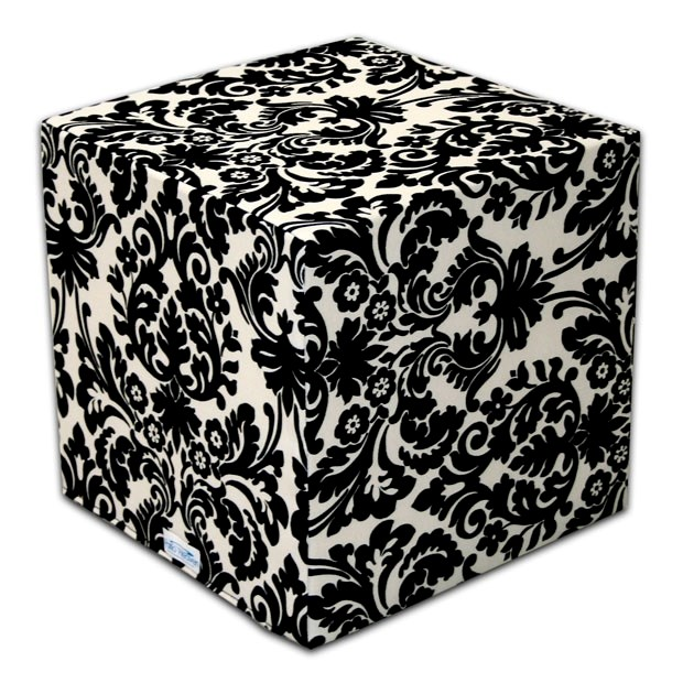 Our signature Poufs and Cubes!