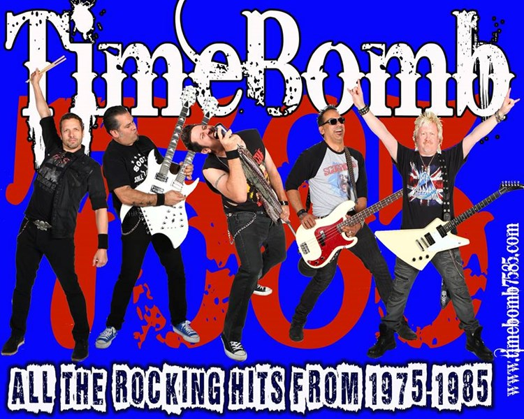 TimeBomb - 80s Band - Burbank, CA