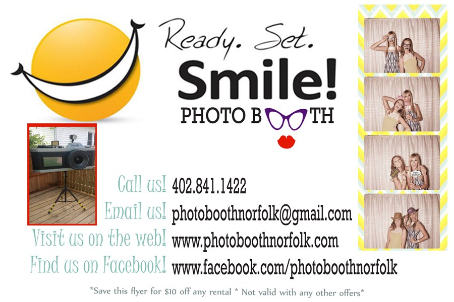 Ready.Set.Smile! Photo Booth - Photo Booth - Norfolk, NE