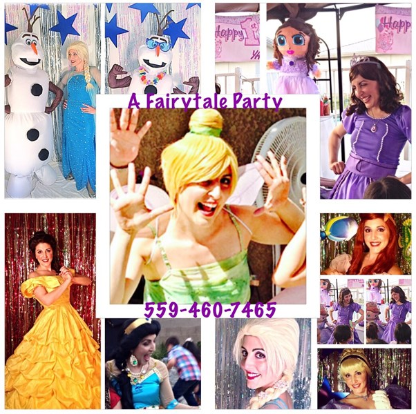 A Fairytale Party Princess Parties - Princess Party - Fresno, CA