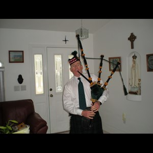 Palm Coast, FL Bagpiper | Paddy Costello