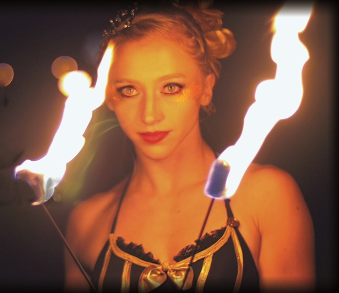 Julia Jerome - Fire Dancer - Boston, MA