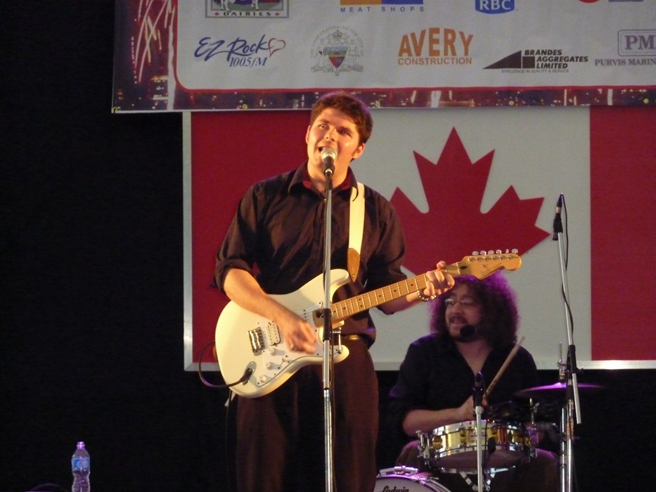Andre Bisson Band  on Canada Day