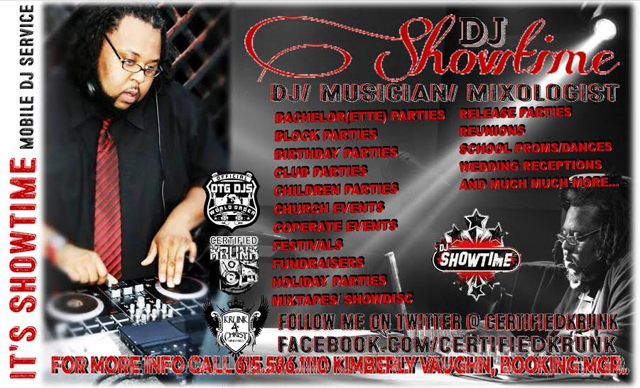 DJ SHOWTIME - Event DJ - Nashville, TN