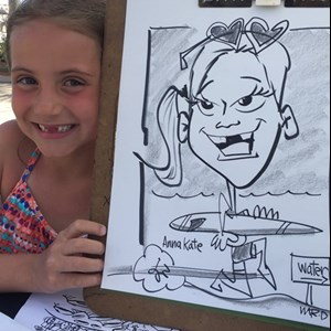 Ponte Vedra Beach, FL Caricaturist | Caricatures by Mr. D