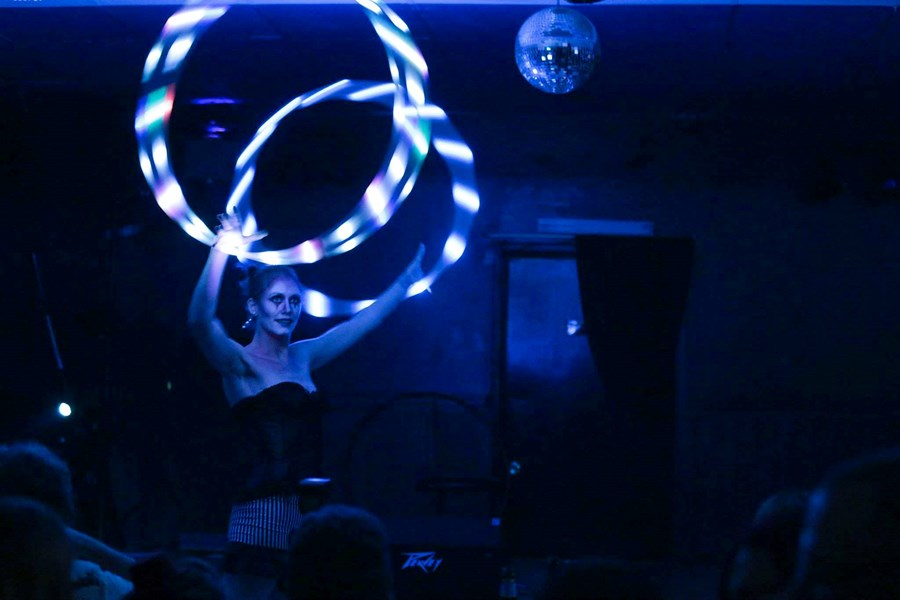 Gaia - Hula Hoop and Poi Fire & LED Dancer - Fire Dancer - Wichita, KS