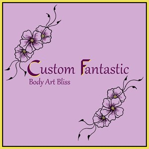 Oregon Face Painter | Custom Fantastic / Hennatopia