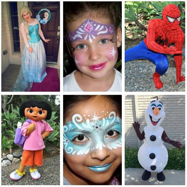 Magical Entertainers And Events - Costumed Character - Houston, TX