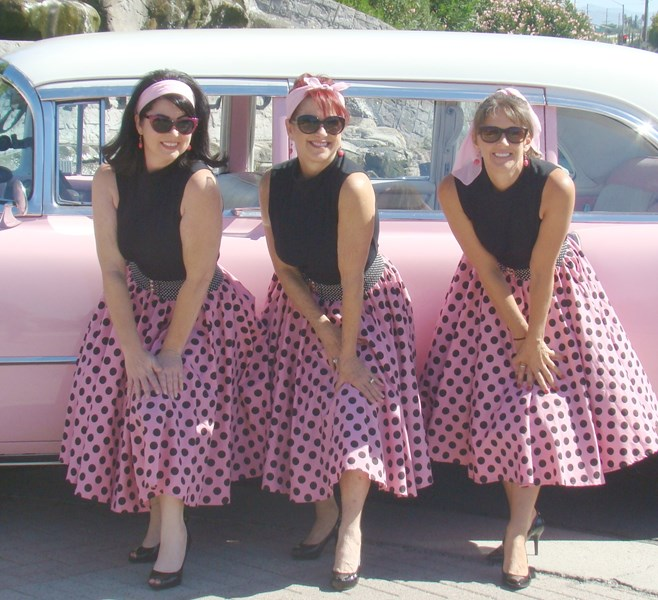 Jonnie Fox and The Satinettes - 50s Band - Temecula, CA