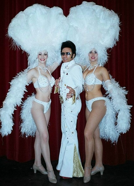 EL KING SEEN ON JAY LENO,FOX TV WITH SHOWGIRLS !  - Elvis Impersonator - New York City, NY