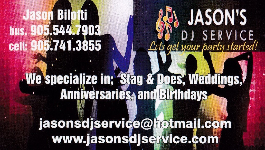 Jason's Dj Service - Mobile DJ - Hamilton, ON