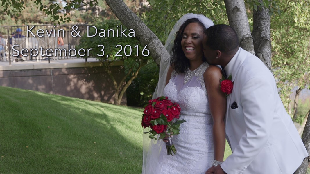 Danika & Kevin Wedding Film Poster
