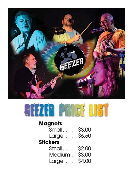 Geezer - Classic Rock Band - Shelby, NC