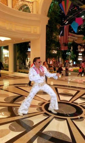 Elvis Impersonator Roman - Elvis Impersonator - Las Vegas, NV