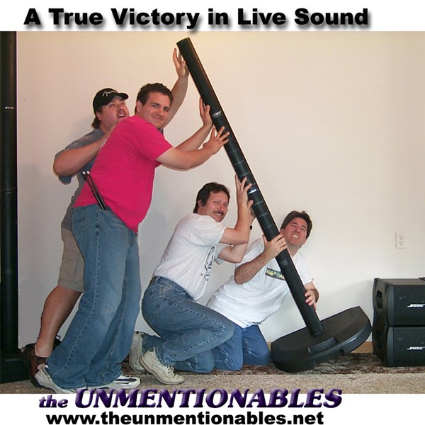 the UNMENTIONABLES - Cover Band - Redding, CA