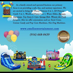 California Bounce House | Emelio Entertainment Bounce House Rentals