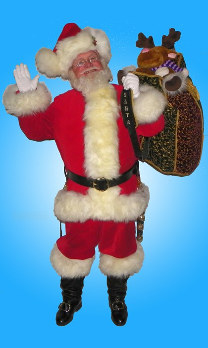 My Popular Fur Fronted Santa Suit