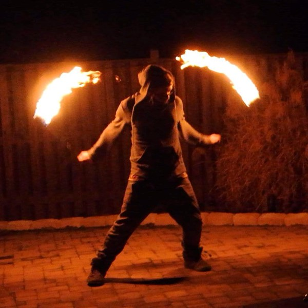 Trial By Fire - Fire Dancer - Richmond, VA