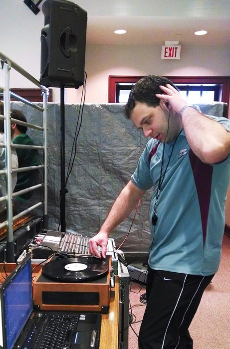 Volunteer DJ at Upward Basketball!
