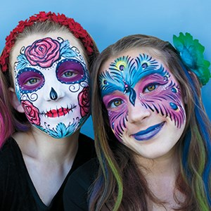 Santa Barbara Face Painter | Santa Barbara Face Painting and Henna