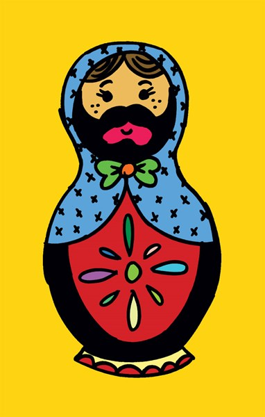 Bearded Babushka - Photo Booth - Los Angeles, CA