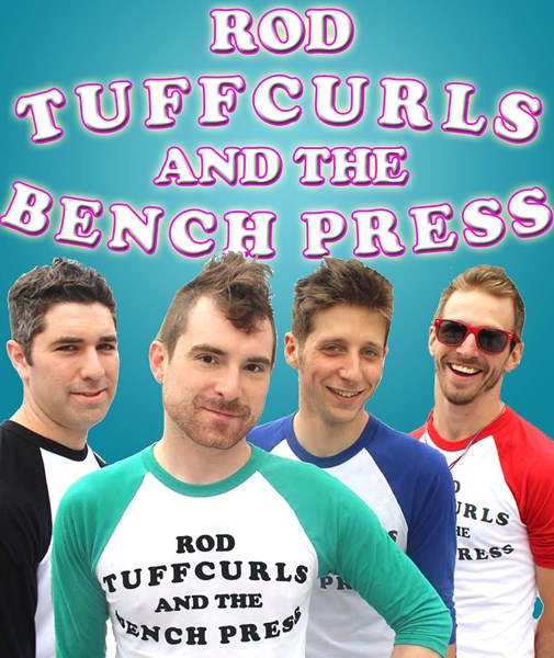 Rod Tuffcurls & The Bench Press - Cover Band - Chicago, IL