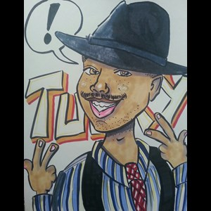Shingle Springs Caricaturist | Tucky Art & Caricatures