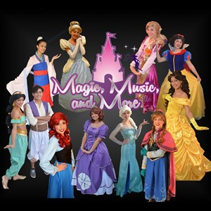 Remington Princess Party | Chicago Princess Parties By: Magic Music and More