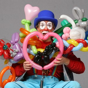 Lackey Balloon Twister | Cambo the Clown