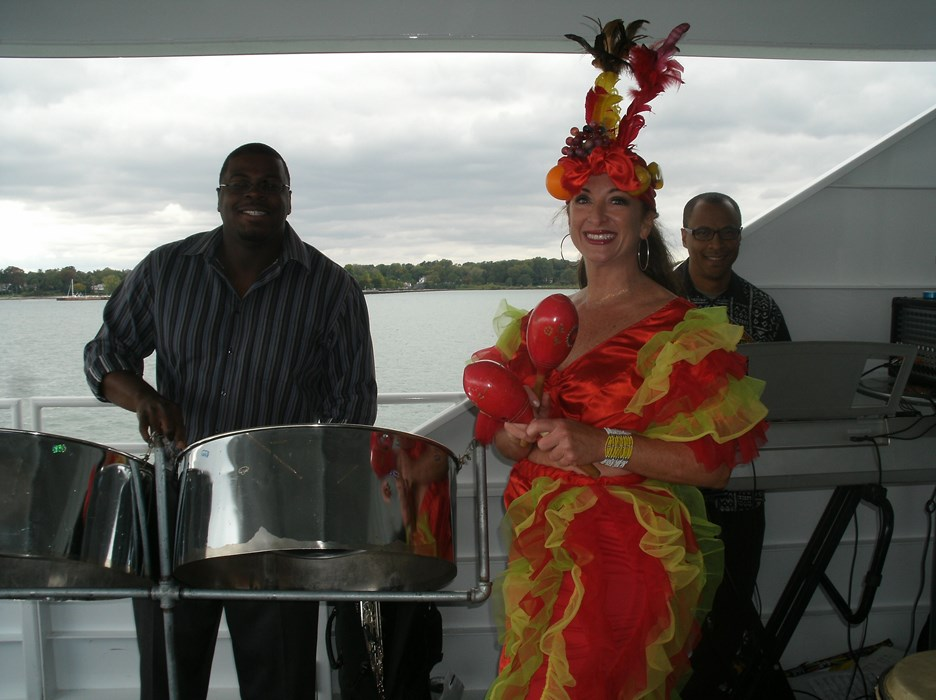 Island Fun Band on Ovation Yacht