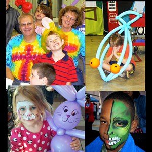 Elkhart Face Painter | A Dyno-Might Amusement Company LLC