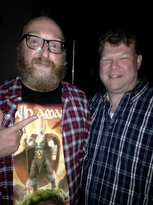 With Brian Posehn