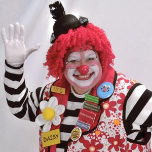 Granite Springs Singing Telegram | DAISY THE CLOWN