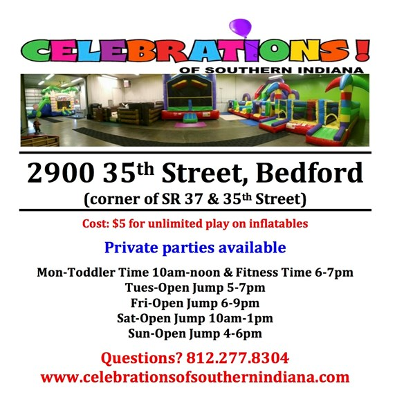 Celebrations of Southern Indiana - Party Inflatables - Bedford, IN