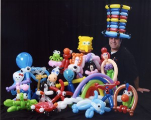 Mr. Balloon Wizard - Balloon Twister - Lexington, MA