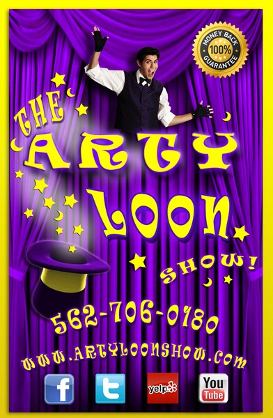 The Arty Loon Show! HAVE ARTY BRING THE PARTY! - Magician - Los Angeles, CA