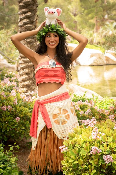 las vegas princess party moana