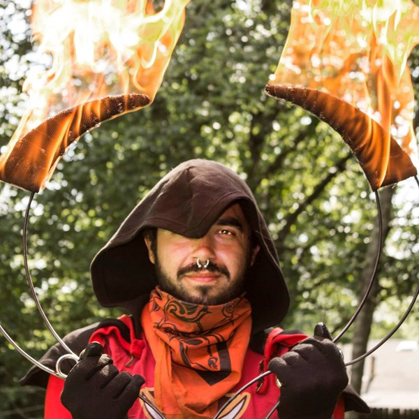 Chas Nabi - Fire Dancer - Decatur, GA