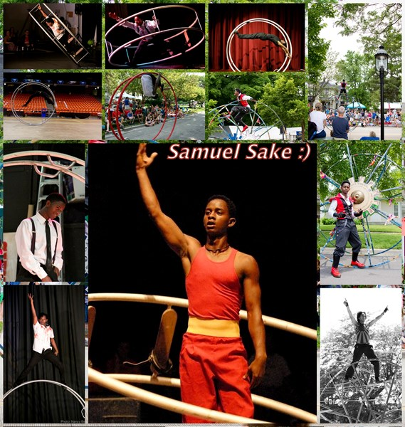 Gym Wheel Performance by Samuel Sake - Circus Performer - Chicago, IL