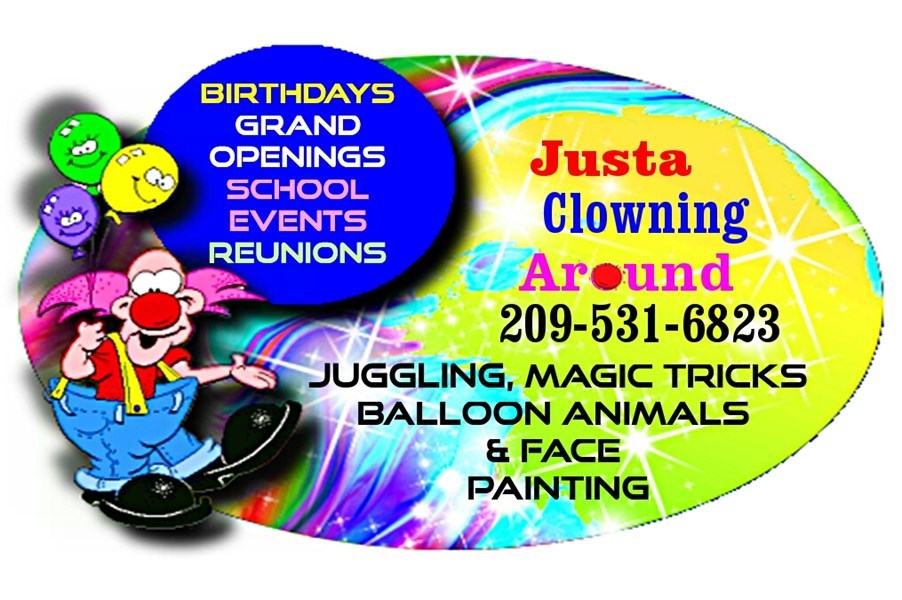justa clowning around - Clown - Modesto, CA