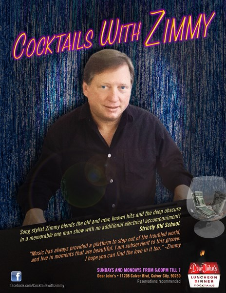 Cocktails with Zimmy - Pop Pianist - Marina del Rey, CA