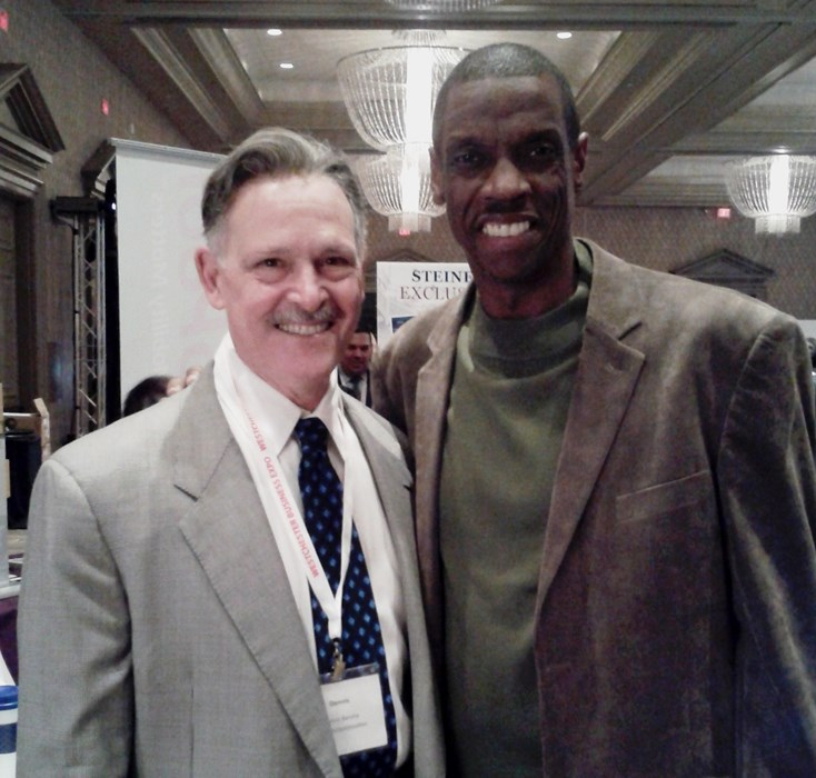With 'Doc Gooden' at Trade Show