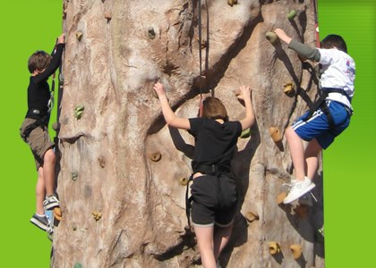 4 Person Rock Wall