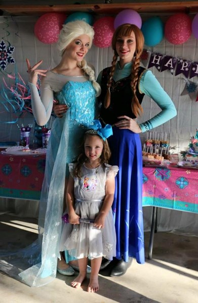 The Singing Princess Of San Antonio - Princess Party - Castroville, TX