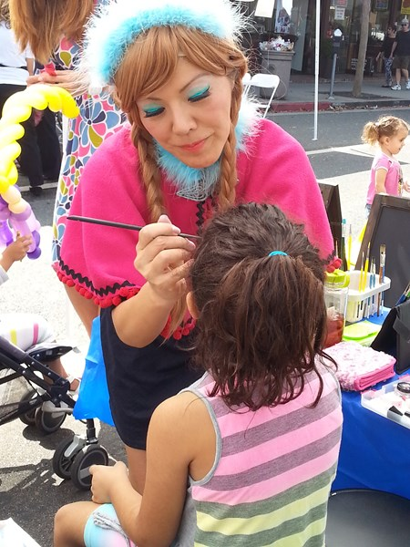 Rainbow Painted Smiles - Face Painter - Los Angeles, CA
