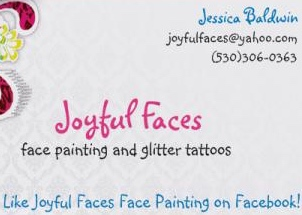 Joyful Faces Face Painting - Party Tent Rentals - Brookings, OR