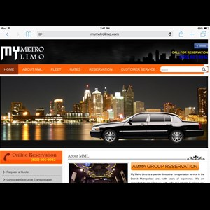 Michigan Event Limo | DTW Airport Transportation